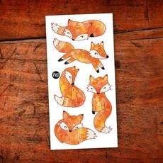 Picotatoo Tatouage - Les renards roux