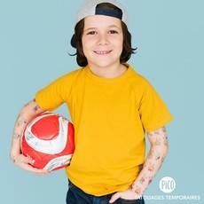 Picotatoo Tatouage - Rico le joueur de soccer