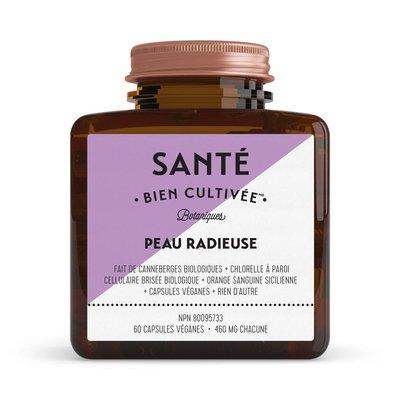 Santé Bien Cultivée Capsules véganes - Peau radieuse