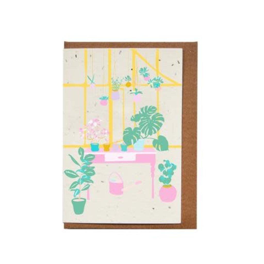 Lili Graffiti Carte ensemencée - Plantes