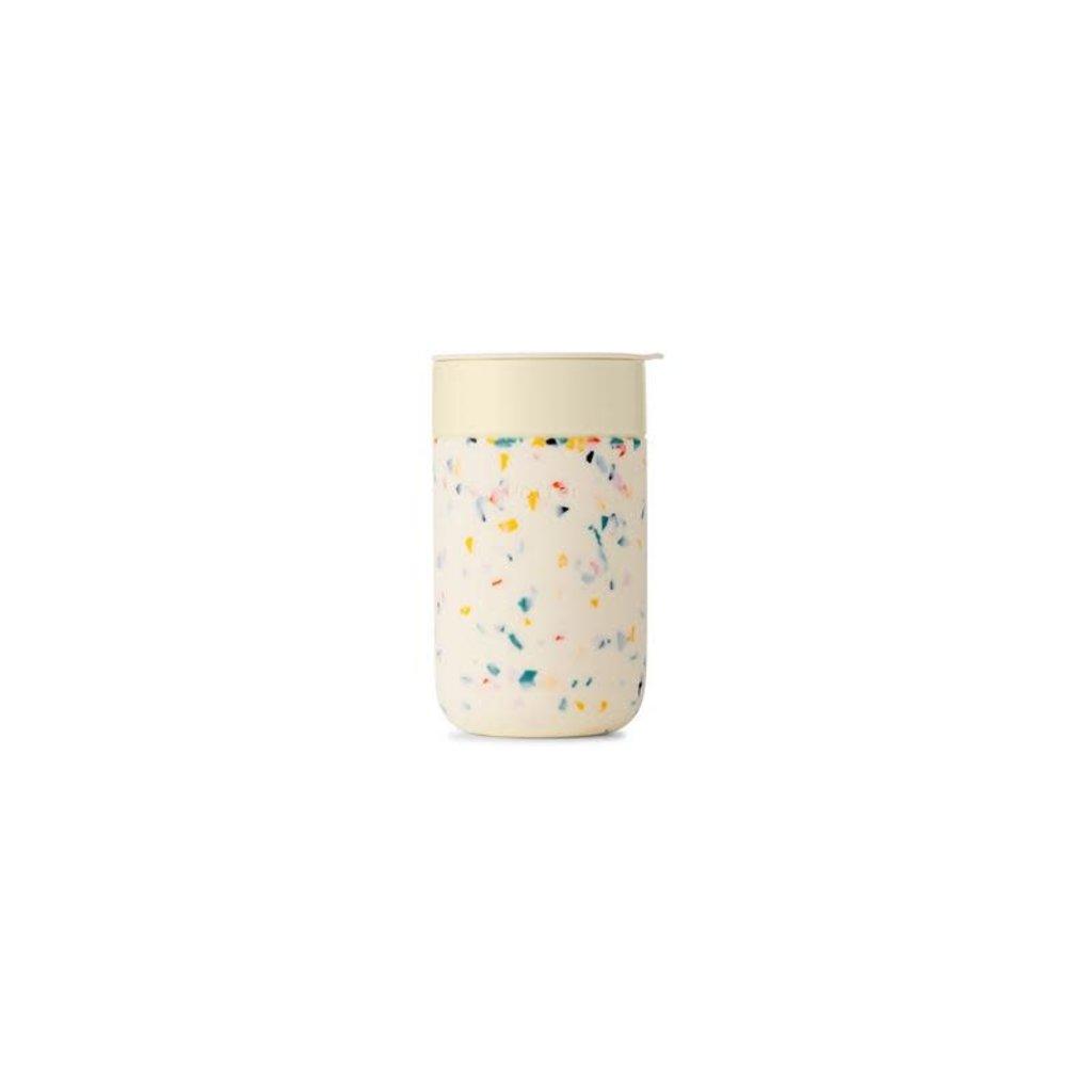 W&P porter Tasse en céramique 16 oz - Terrazzo Crème