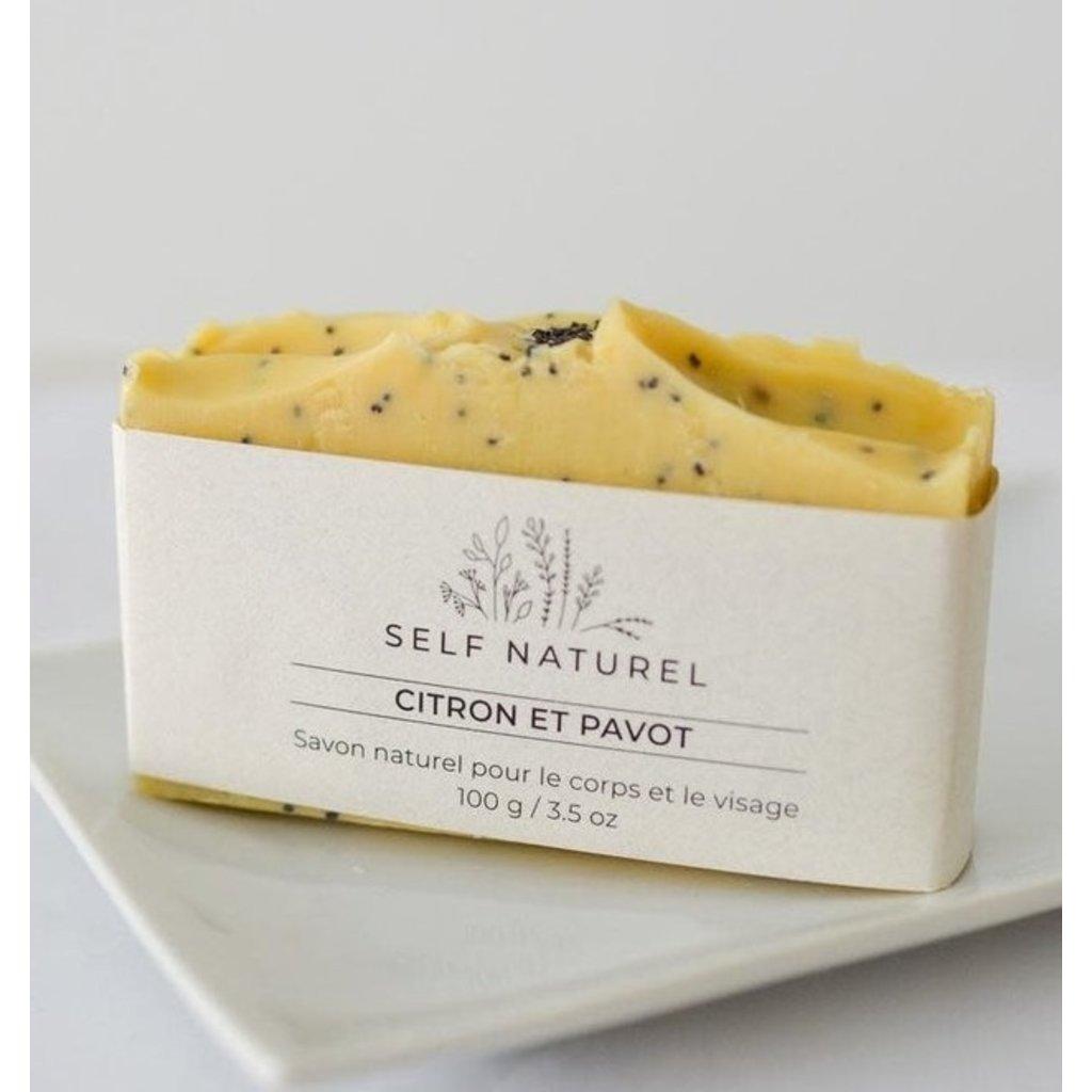 Self Naturel Savon - Citron & graines de pavot