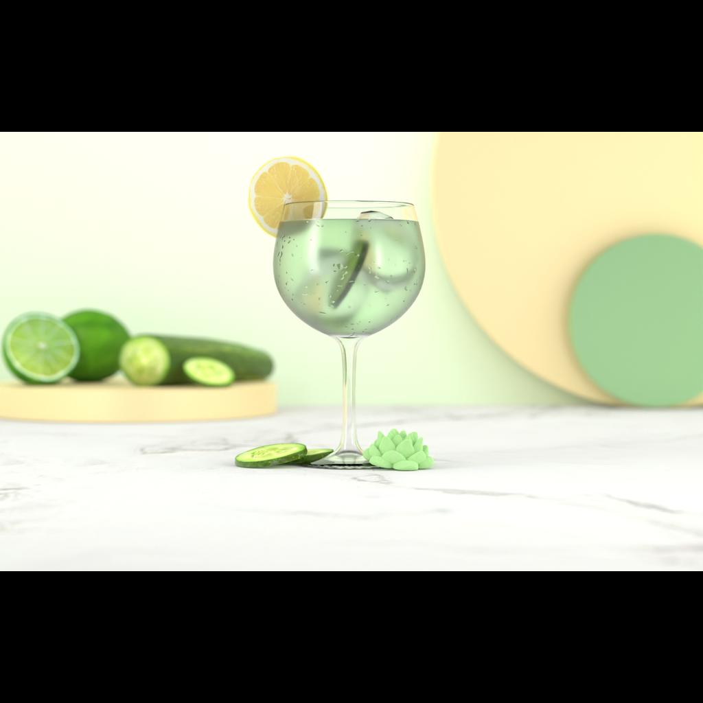 Poseidn Mélange pour cocktails - Gin Tonic Concombre