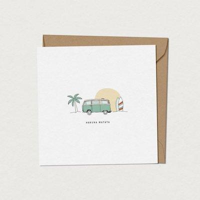 Mimosa Design Carte - Hakuna Matata