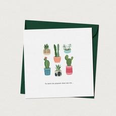 Mimosa Design Carte - Tu mets du piquant dans ma vie