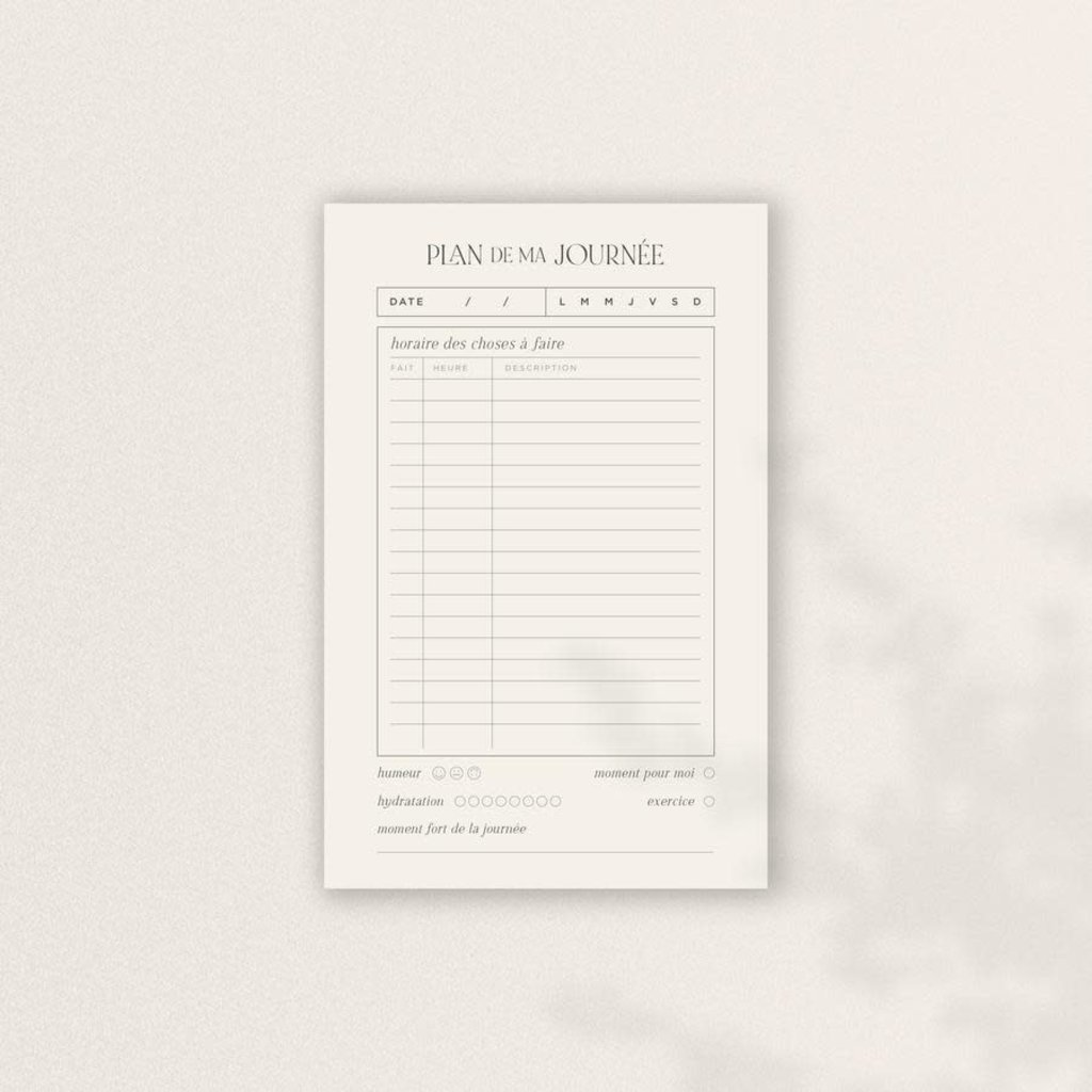 Valorise Bloc-notes - Le Minimaliste