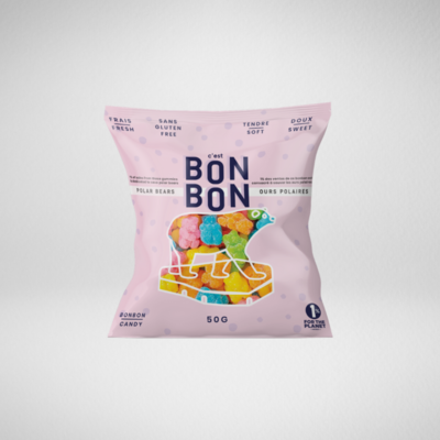 C'est Bonbon Sachet de bonbons 50g - Ours Polaire