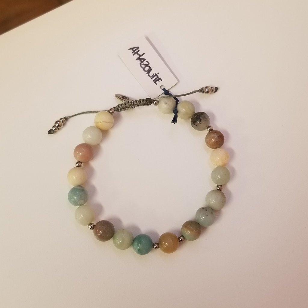 La Main Bleue Bracelet - Amazonite