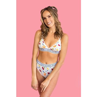 POP Underwear Haut triangle - Love you berry much