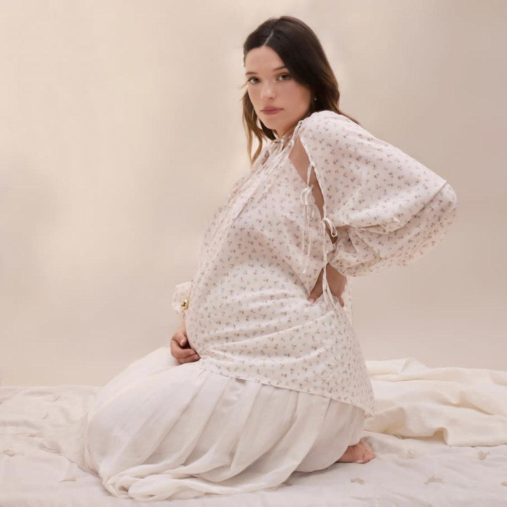 Ilado Blouse de grossesse et d'allaitement - MILKY MAMA