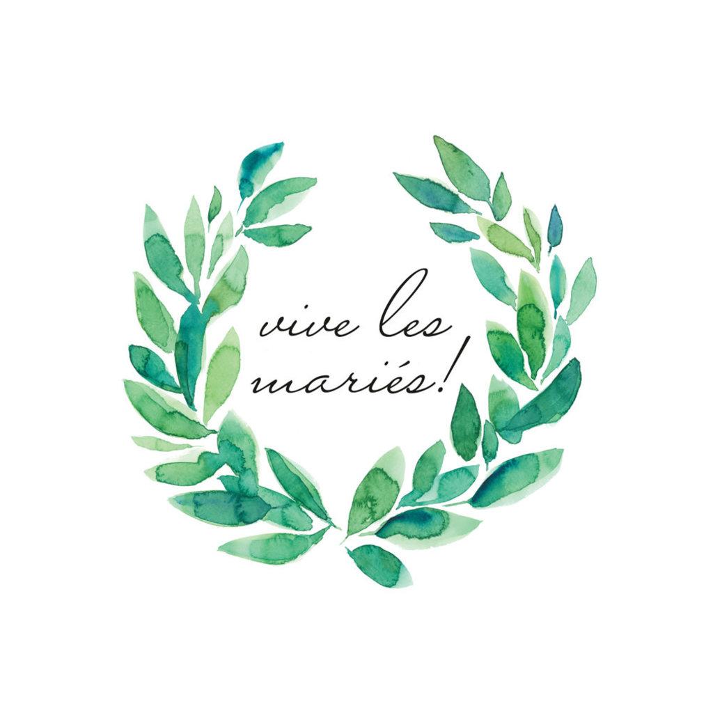Stéphanie Renière Carte - Vive les Mariés