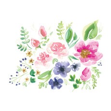 Stéphanie Renière Carte - Fleurs