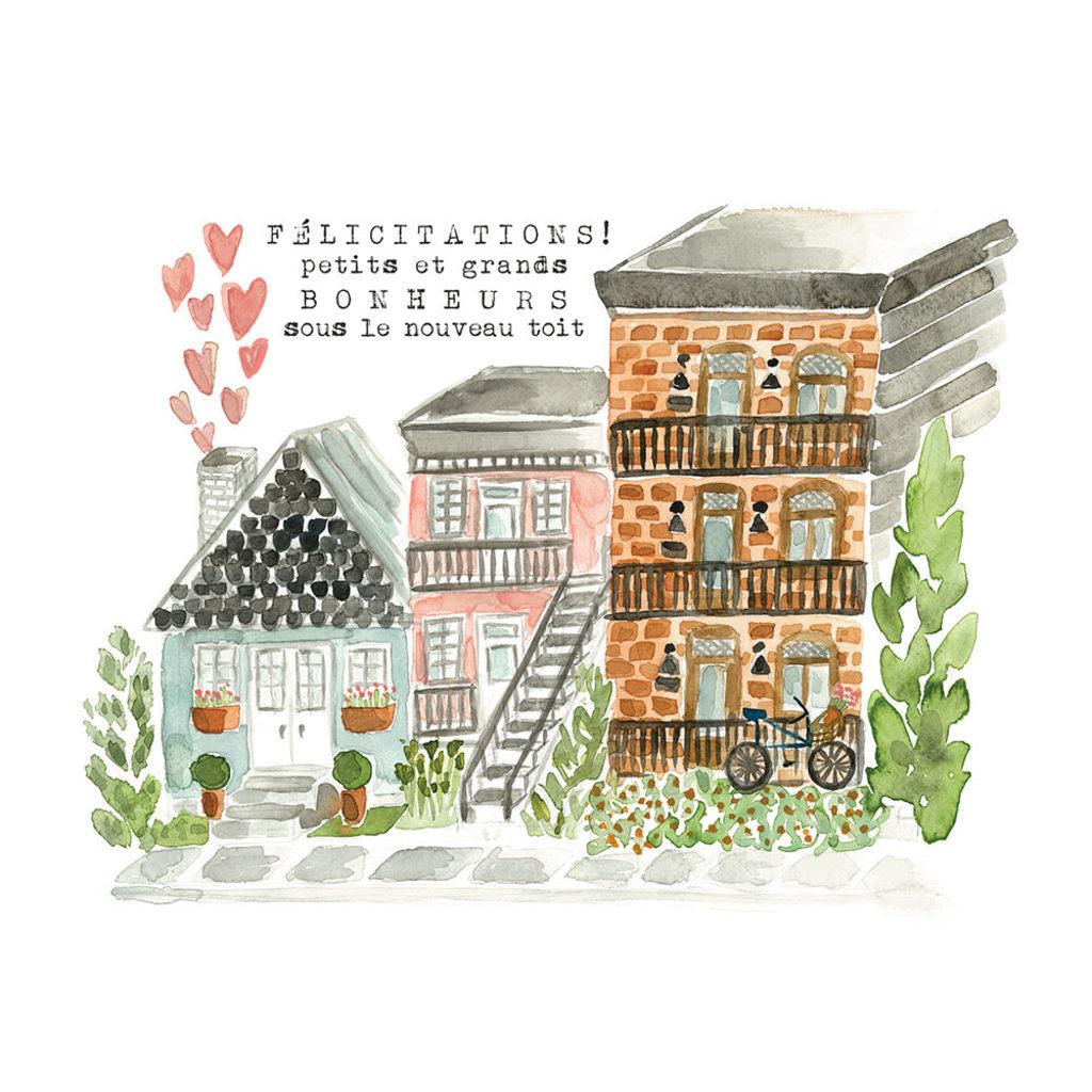 Stéphanie Renière Carte - Nouvelle maison