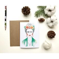 KatrinnIllustration Carte - Frida