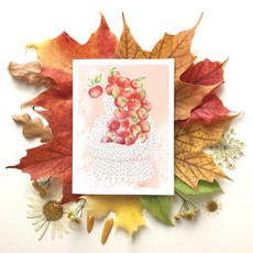 KatrinnIllustration Carte - Pommes