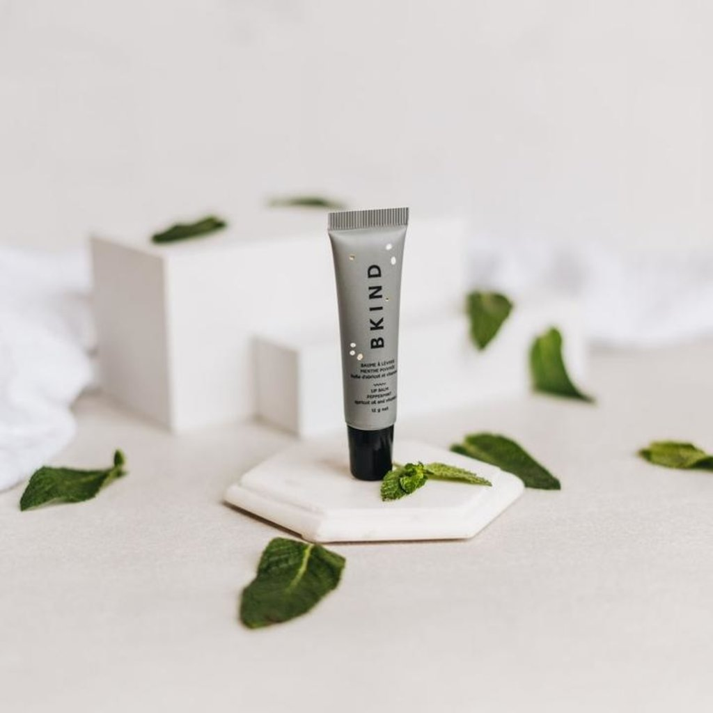 BKIND Baume à lèvres naturelle - Menthe poivrée