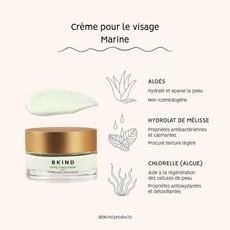 BKIND Crème pour le visage aux algues marines