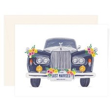 Paige & Willow Carte - Just Married Car
