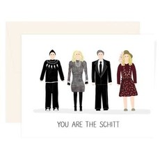 Paige & Willow Carte - You are the Schitt