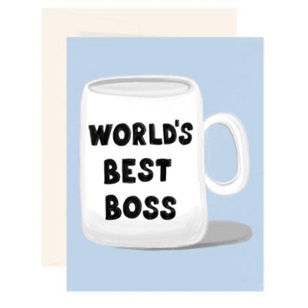 Paige & Willow Carte - World's Best Boss