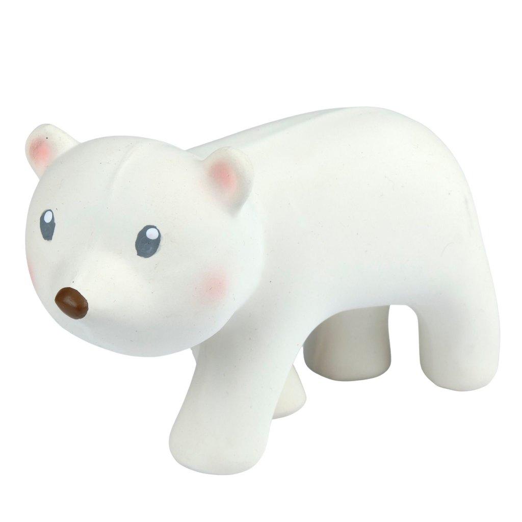 TIKIRI Jouet en caoutchouc naturel - Ours polaire