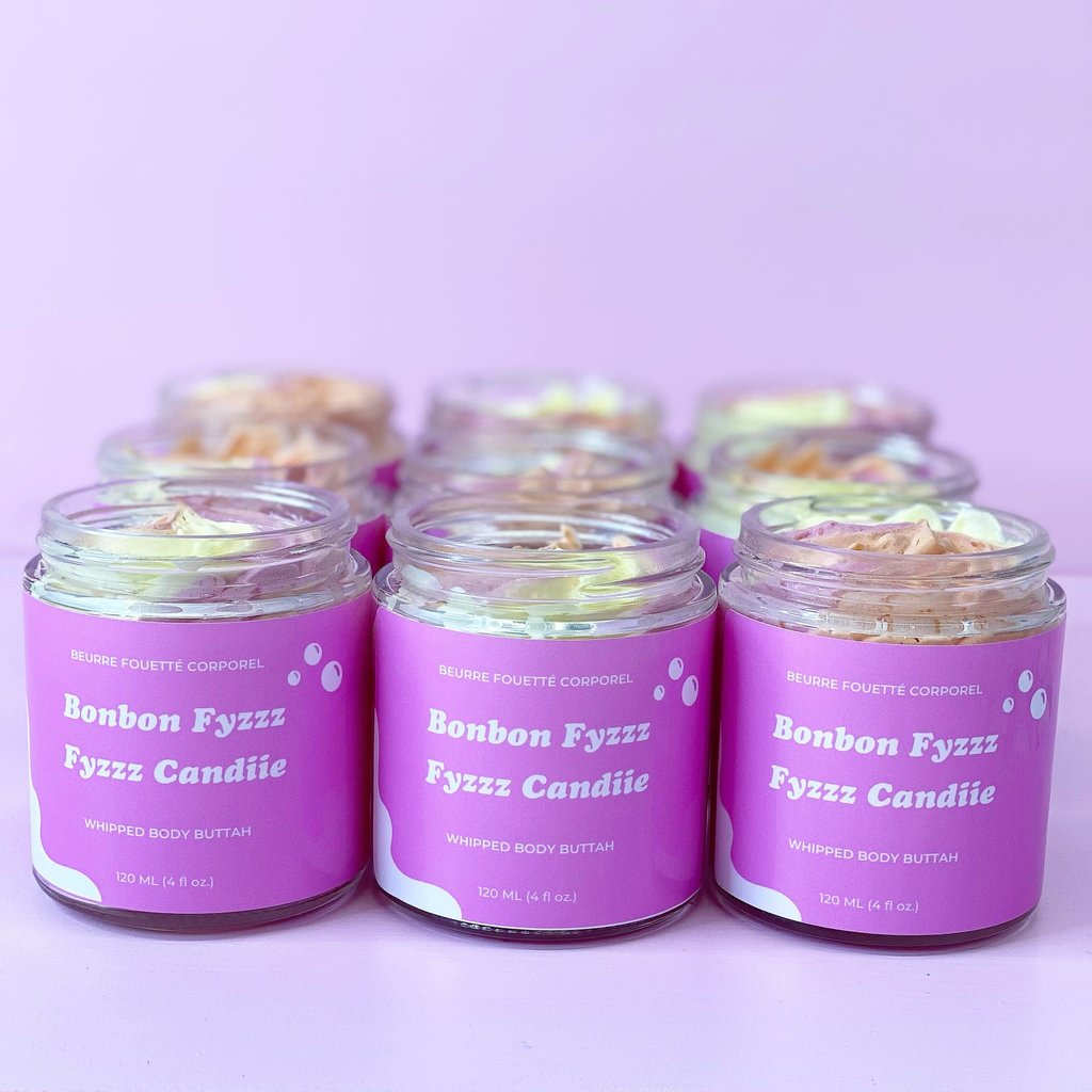 Caramel Roze Beurre fouetté - Bonbon Fyzzz