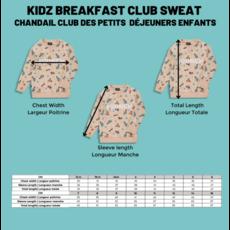 Birdz Chandail pour enfants Club des petits déjeuners - Brunch