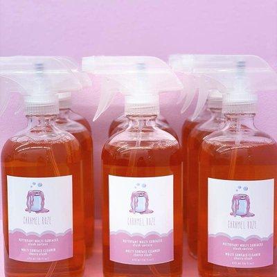 Caramel Roze Nettoyant multi-surfaces - Slush Cerizzz