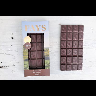FAYS Terroir Chocolaté Tablette de chocolat noir