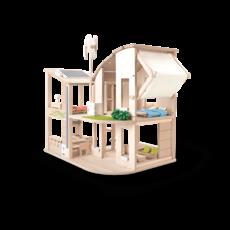 Plan Toys Maison de poupée écoénergétiques  avec fournitures