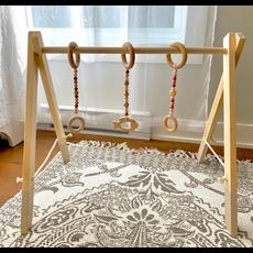 Lily & Rosemary Arche d'éveil en bois - Beige