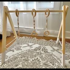 Lily & Rosemary Arche d'éveil en bois - Blanc