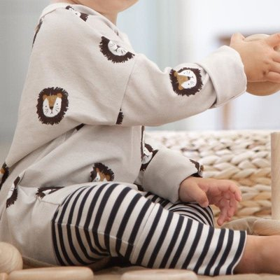 Bajoue Pull évolutif bébés et enfants - Lion