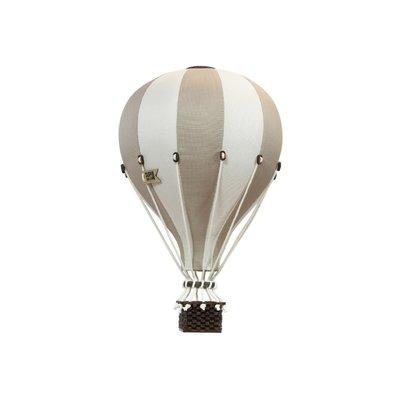 Super Balloon Montgolfière décorative - Sable et beige