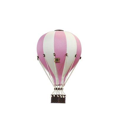 Super Balloon Montgolfière décorative - Framboise et crème