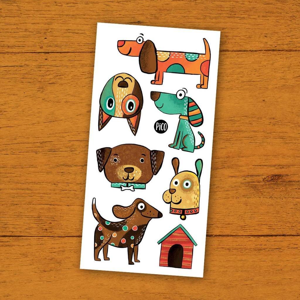 Picotatoo Tatouage - Les chiens coquins