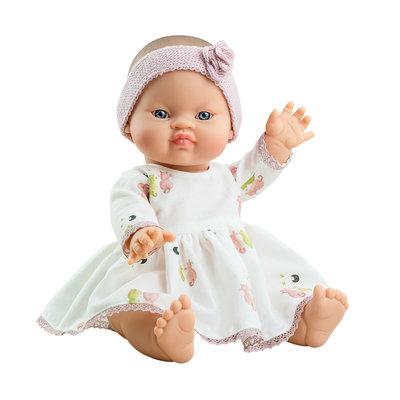 Paola Reina Poupée Bébé en robe - Johana