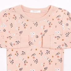 Petit Lem Ensemble pyjama rose à imprimé (2 pcs.) - Fleurs des champs