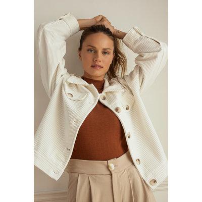 Dailystory clothing Veste Alani - Crème