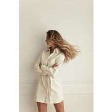 Dailystory clothing Robe Evie - Crème