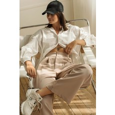 Dailystory clothing Chemise Blair Oversized - Blanc