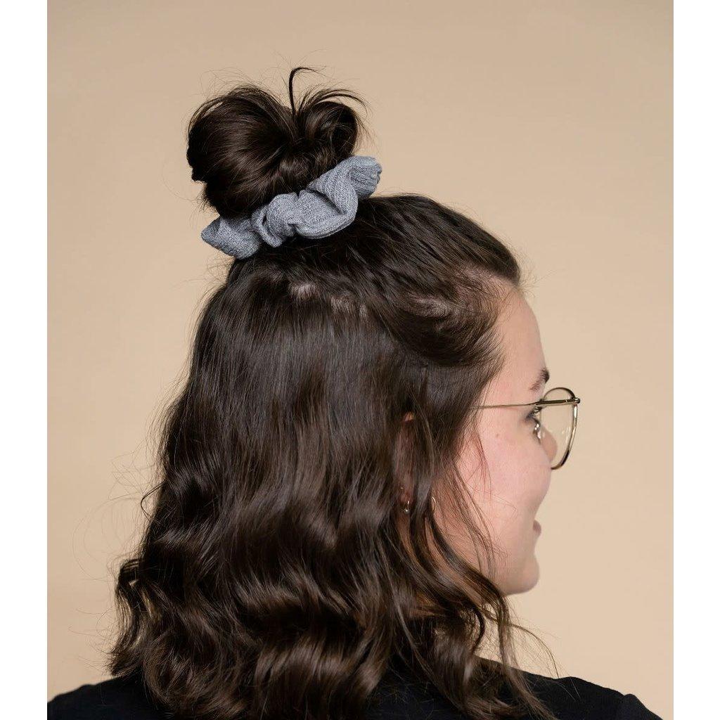 Rose Maternité Chouchou à cheveux - Gris foncé