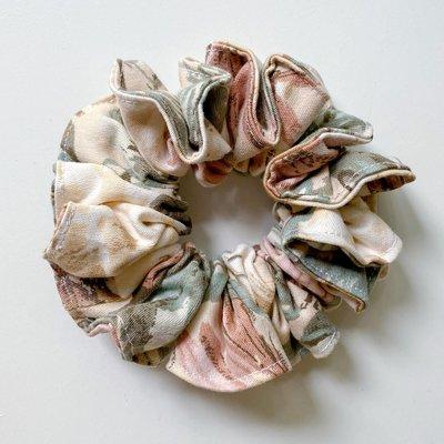 Filabeth Chou à cheveux - Fleurs roses