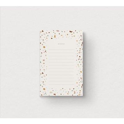 Mimosa Design Bloc-notes - Terrazzo