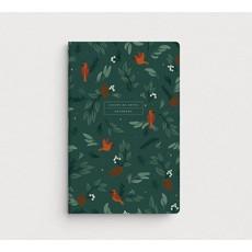 Mimosa Design Cahier de notes - Forêt symphonique