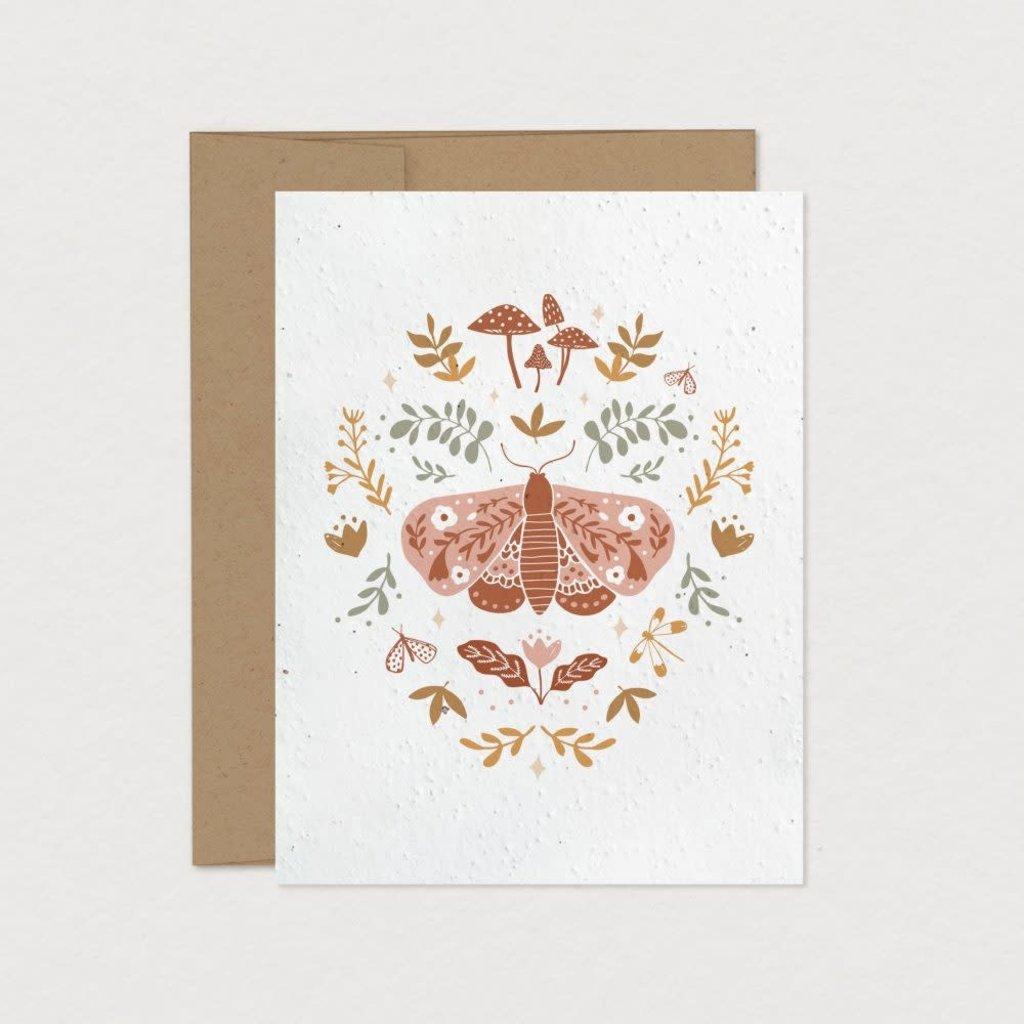 Mimosa Design Carte à planter - Papillon