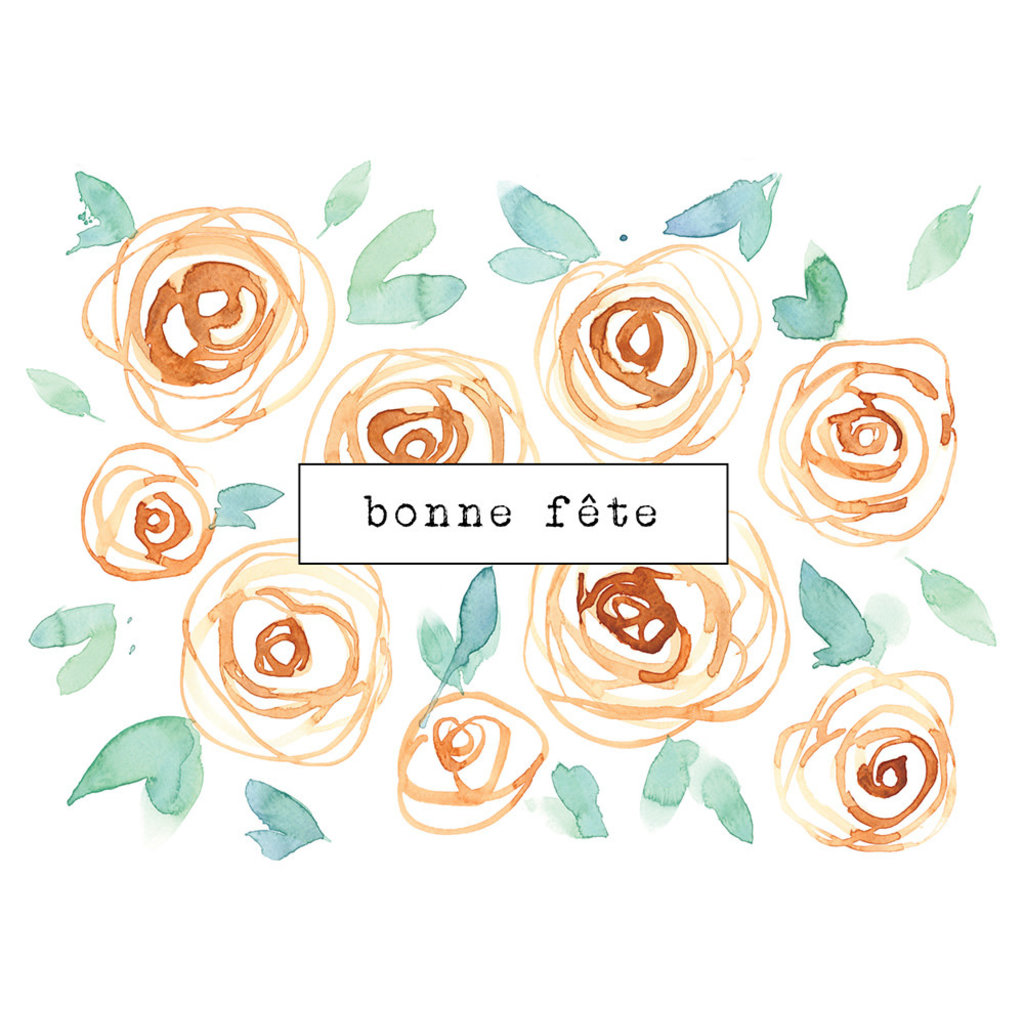 Stéphanie Renière Carte - Bonne fête