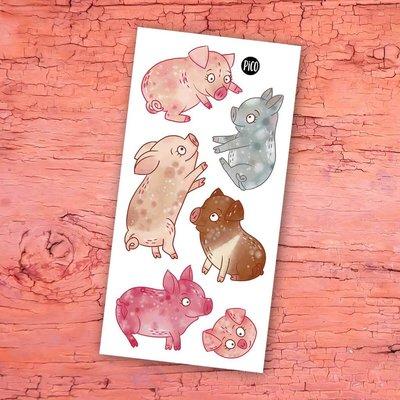 Picotatoo Tatouage - Les cochons de la ferme