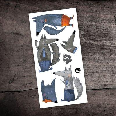 Picotatoo Tatouage - Les Loups Joyeux