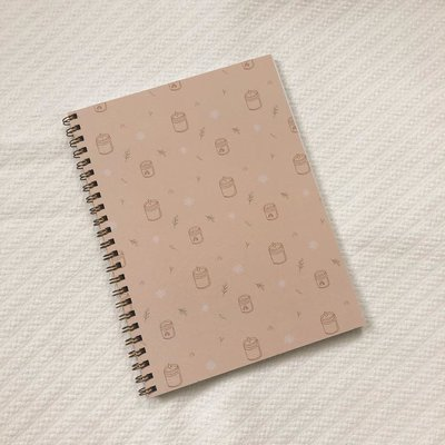Valorise Cahier de notes x Bougies Harmonie